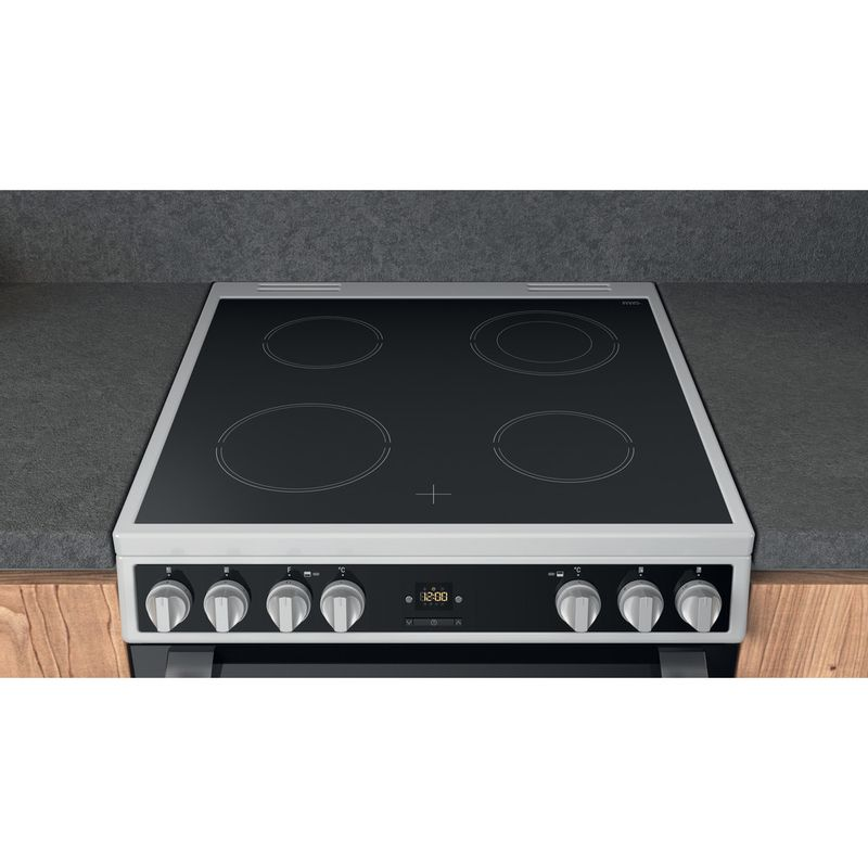 Hotpoint-Double-Cooker-HDT67V9H2CW-UK-White-A-Lifestyle-frontal-top-down