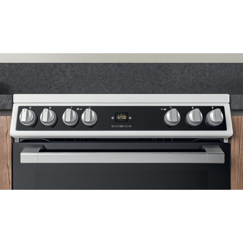 Hotpoint-Double-Cooker-HDT67V9H2CW-UK-White-A-Lifestyle-control-panel