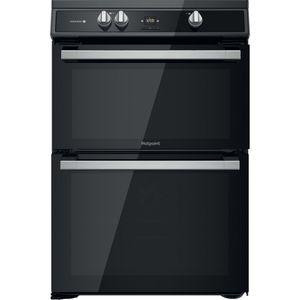 Hotpoint HDT67I9HM2C/UK Double cooker - Black