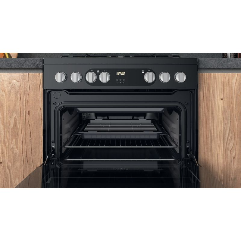 Hotpoint-Double-Cooker-HDM67G9C2CSB-UK-Black-A-Cavity