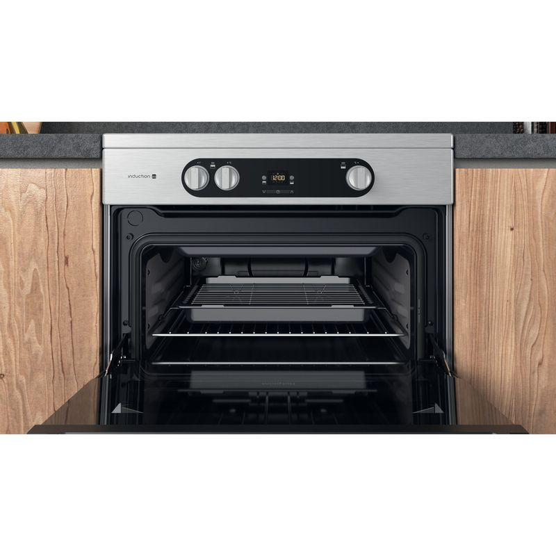 Hotpoint-Double-Cooker-HDM67I9H2CX-UK-Inox-A-Cavity