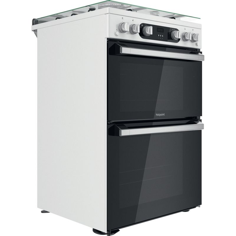 Hotpoint-Double-Cooker-HD67G02CCW-UK-White-A--Perspective