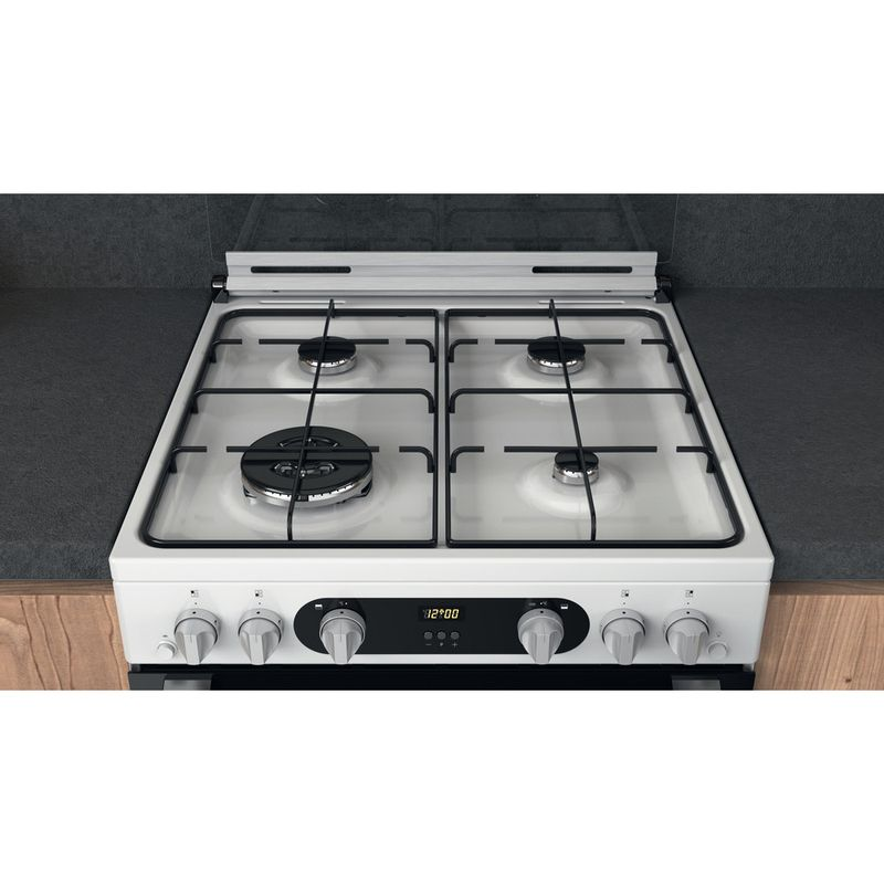 Hotpoint-Double-Cooker-HD67G02CCW-UK-White-A--Lifestyle-frontal-top-down