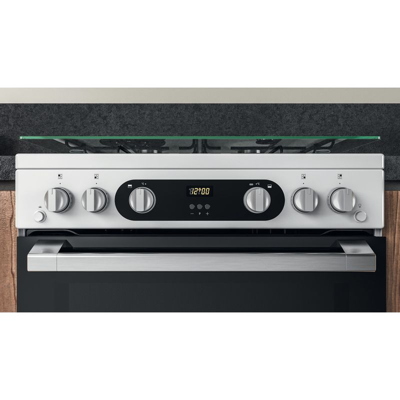 Hotpoint-Double-Cooker-HD67G02CCW-UK-White-A--Lifestyle-control-panel