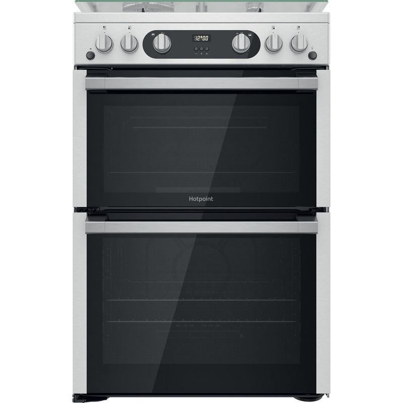 Hotpoint-Double-Cooker-HDM67G0C2CX-U-Inox-A--Frontal