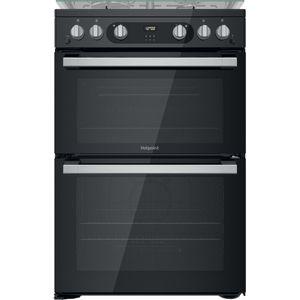 Hotpoint HDM67G0C2CB/UK Double cooker - Black