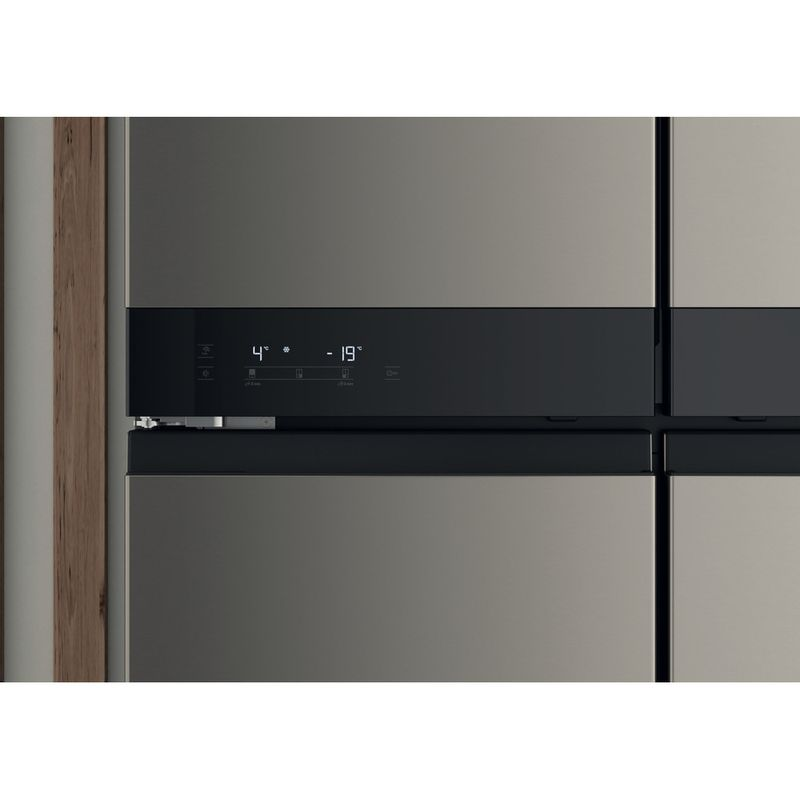 Hotpoint-Side-by-Side-Free-standing-HQ9-U1BL-UK-Black-Inox-Lifestyle-control-panel