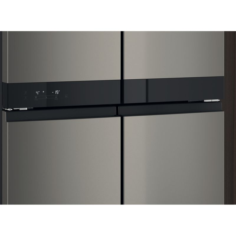 Hotpoint-Side-by-Side-Free-standing-HQ9-U1BL-UK-Black-Inox-Lifestyle-detail