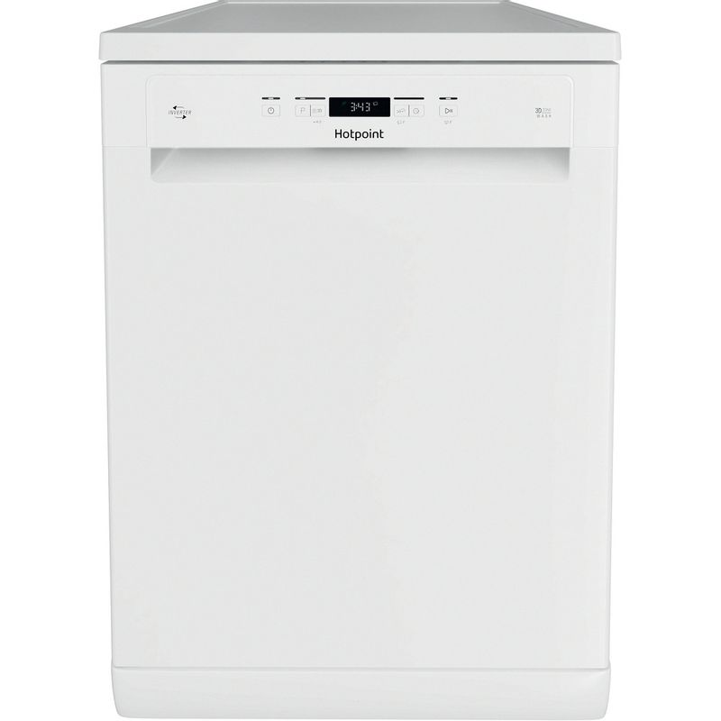 Hotpoint-Dishwasher-Free-standing-HFC-3C26-W-C-UK-Free-standing-E-Frontal