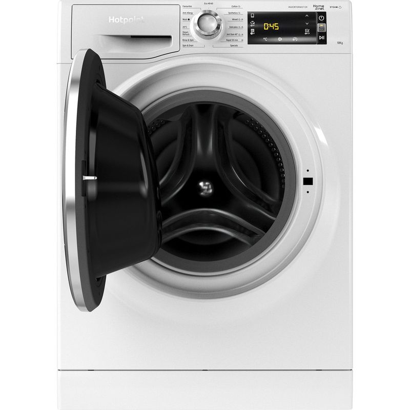 Hotpoint-Washing-machine-Free-standing-NLLCD-1044-WD-AW-UK-N-White-Front-loader-B-Frontal-open