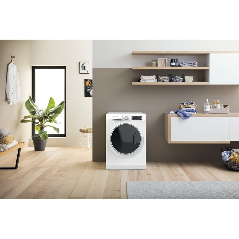 Hotpoint-Washing-machine-Free-standing-NLLCD-1044-WD-AW-UK-N-White-Front-loader-B-Lifestyle-frontal