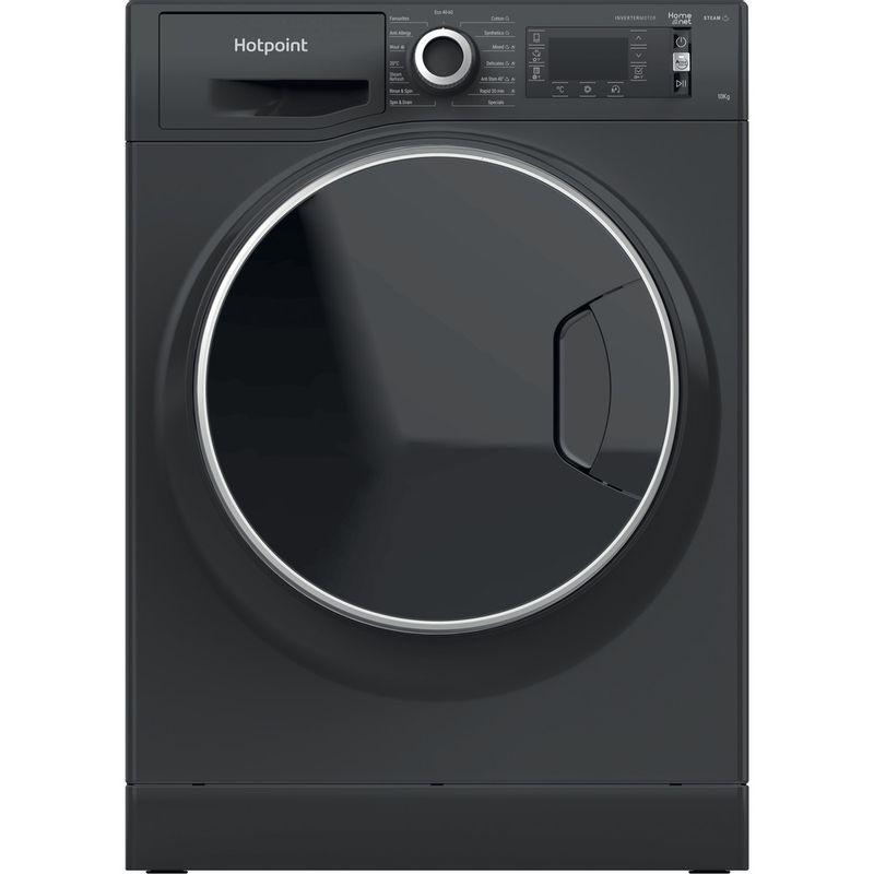 Hotpoint-Washing-machine-Free-standing-NLLCD-1064-DGD-AW-UK-N-Dark-Grey-Front-loader-C-Frontal