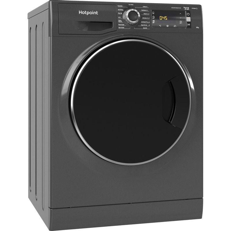 Hotpoint-Washing-machine-Free-standing-NLLCD-1064-DGD-AW-UK-N-Dark-Grey-Front-loader-C-Perspective