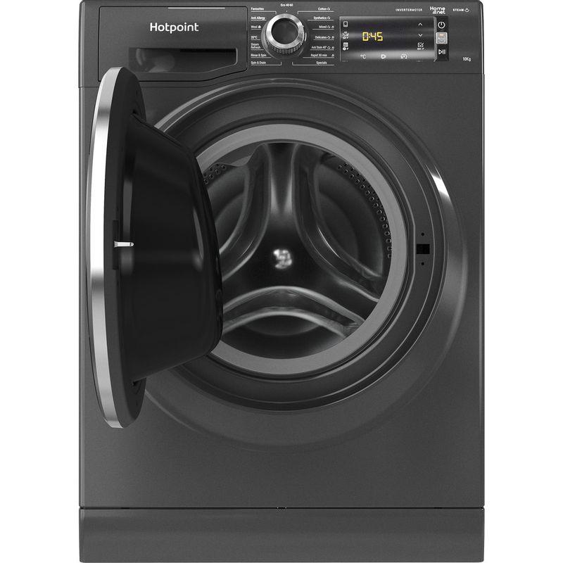 Hotpoint-Washing-machine-Free-standing-NLLCD-1064-DGD-AW-UK-N-Dark-Grey-Front-loader-C-Frontal-open