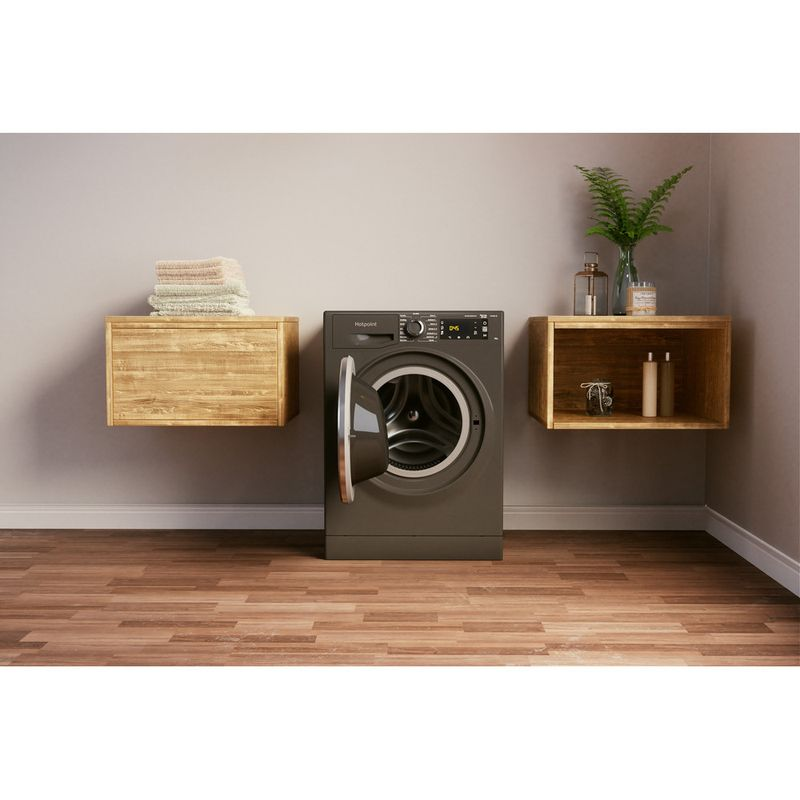 Hotpoint-Washing-machine-Free-standing-NLLCD-1064-DGD-AW-UK-N-Dark-Grey-Front-loader-C-Lifestyle-frontal-open