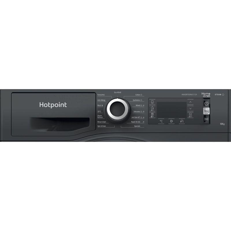 Hotpoint-Washing-machine-Free-standing-NLLCD-1064-DGD-AW-UK-N-Dark-Grey-Front-loader-C-Control-panel