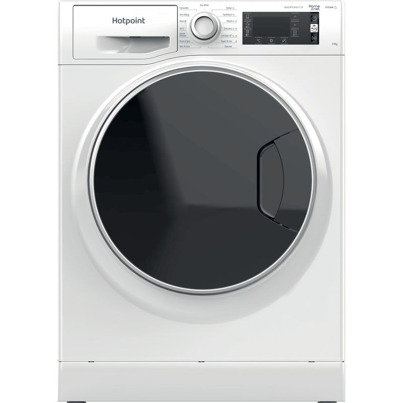 Hotpoint-Washing-machine-Free-standing-NLCD-1164-D-AW-UK-N-White-Front-loader-C-Frontal
