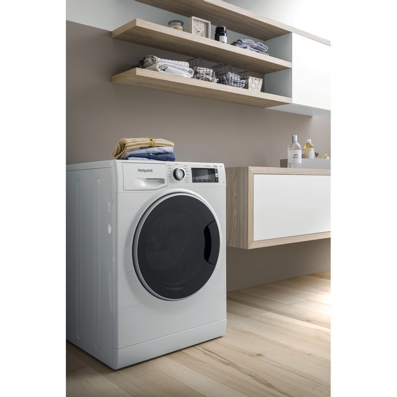 Hotpoint-Washing-machine-Free-standing-NLCD-1164-D-AW-UK-N-White-Front-loader-C-Lifestyle-perspective