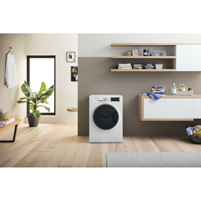 Hotpoint-Washing-machine-Free-standing-NLCD-1164-D-AW-UK-N-White-Front-loader-C-Lifestyle-frontal