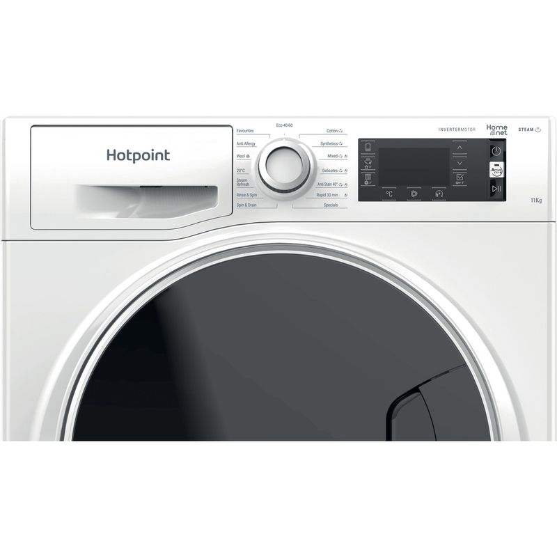Hotpoint-Washing-machine-Free-standing-NLCD-1164-D-AW-UK-N-White-Front-loader-C-Control-panel