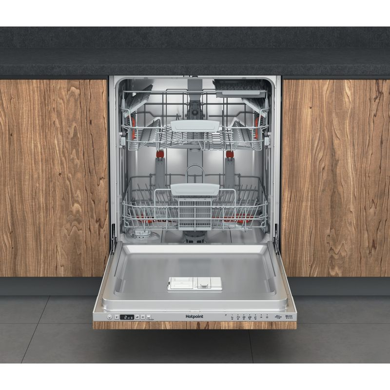 Hotpoint-Dishwasher-Built-in-HDIC-3B-26-C-W-UK-Full-integrated-E-Frontal-open