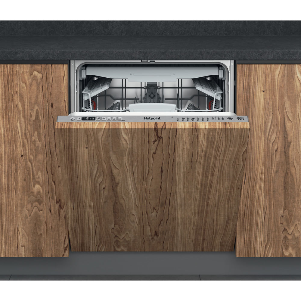 Hotpoint Integrated Dishwasher HIO 3T241 WFEGT UK : discover the specifications of our home appliances and bring the innovation into your house and family.