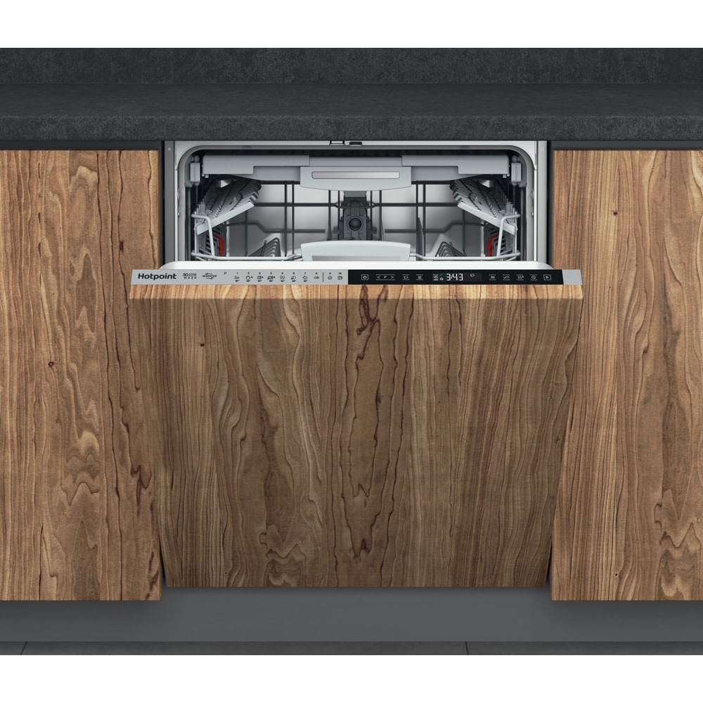 Hotpoint Integrated Dishwasher HIP 4O539 WLEGT UK : discover the specifications of our home appliances and bring the innovation into your house and family.