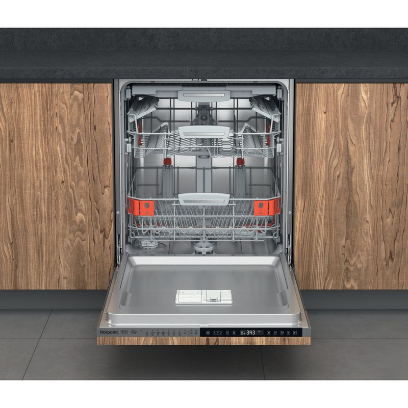 Hotpoint-Dishwasher-Built-in-HIP-4O539-WLEGT-UK-Full-integrated-B-Frontal-open