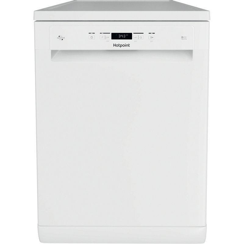 Hotpoint-Dishwasher-Free-standing-HFC-3C32-FW-UK-Free-standing-D-Frontal