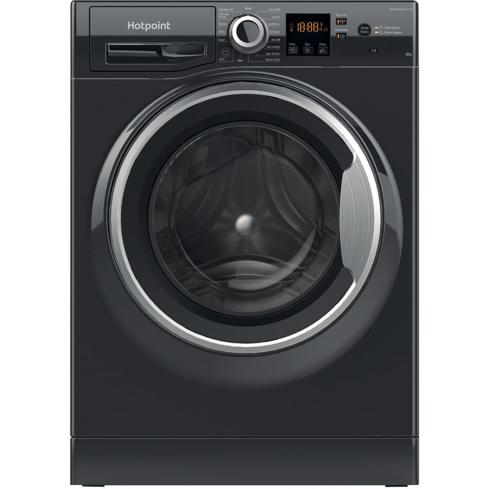 Hotpoint Freestanding Washing Machine NSWR 843C BS UK N : discover the specifications of our home appliances and bring the innovation into your house and family.
