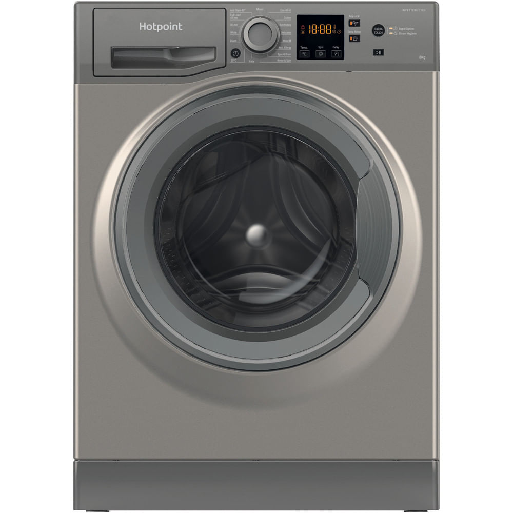 Hotpoint Freestanding Washing Machine NSWR 843C GK UK N : discover the specifications of our home appliances and bring the innovation into your house and family.