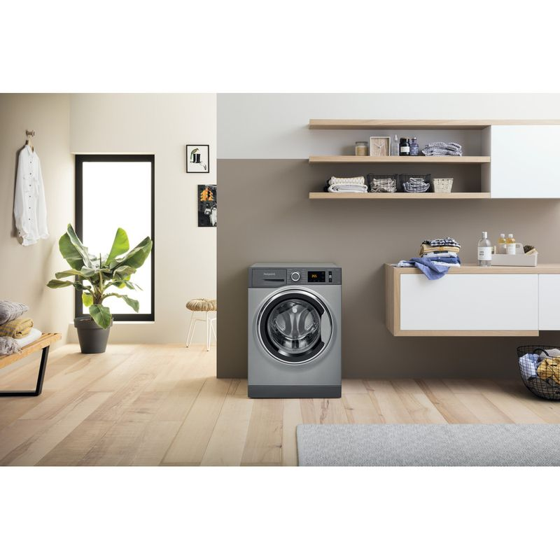 Hotpoint-Washing-machine-Free-standing-NM11-844-GC-A-UK-N-Graphite-Front-loader-B-Lifestyle-frontal