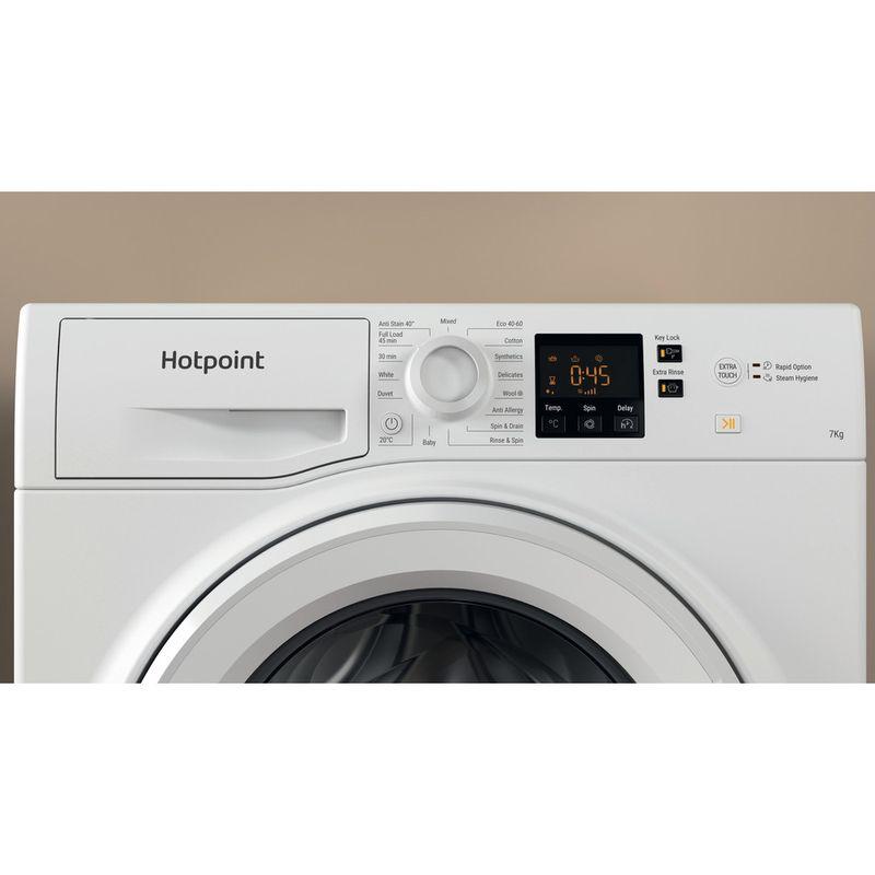 Hotpoint-Washing-machine-Free-standing-NSWR-742U-WK-UK-N-White-Front-loader-E-Lifestyle-control-panel