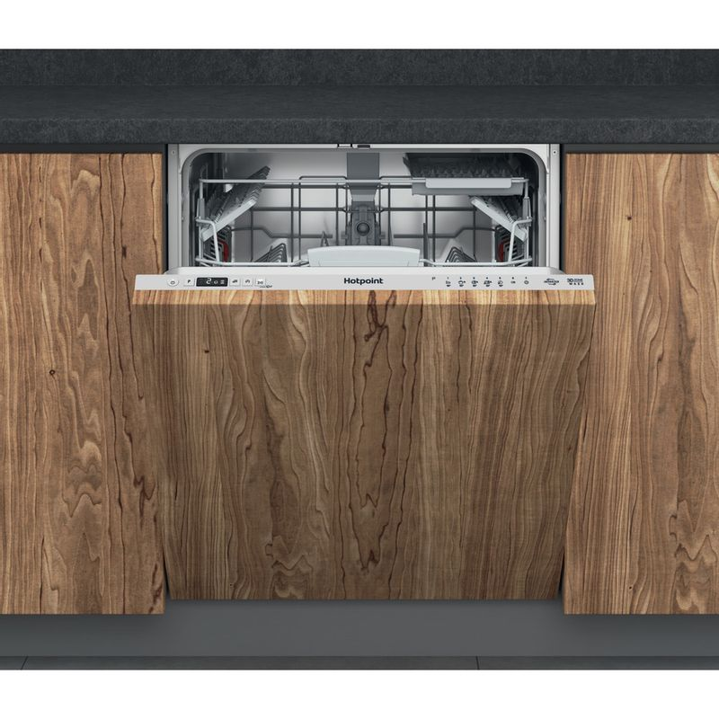 Hotpoint-Dishwasher-Built-in-HIC-3C33-CWE-UK-Full-integrated-D-Frontal
