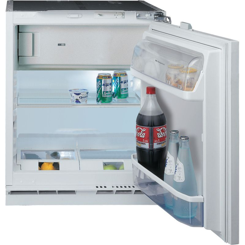 Hotpoint-Refrigerator-Built-in-HF-A1.UK-1-Steel-Frontal-open