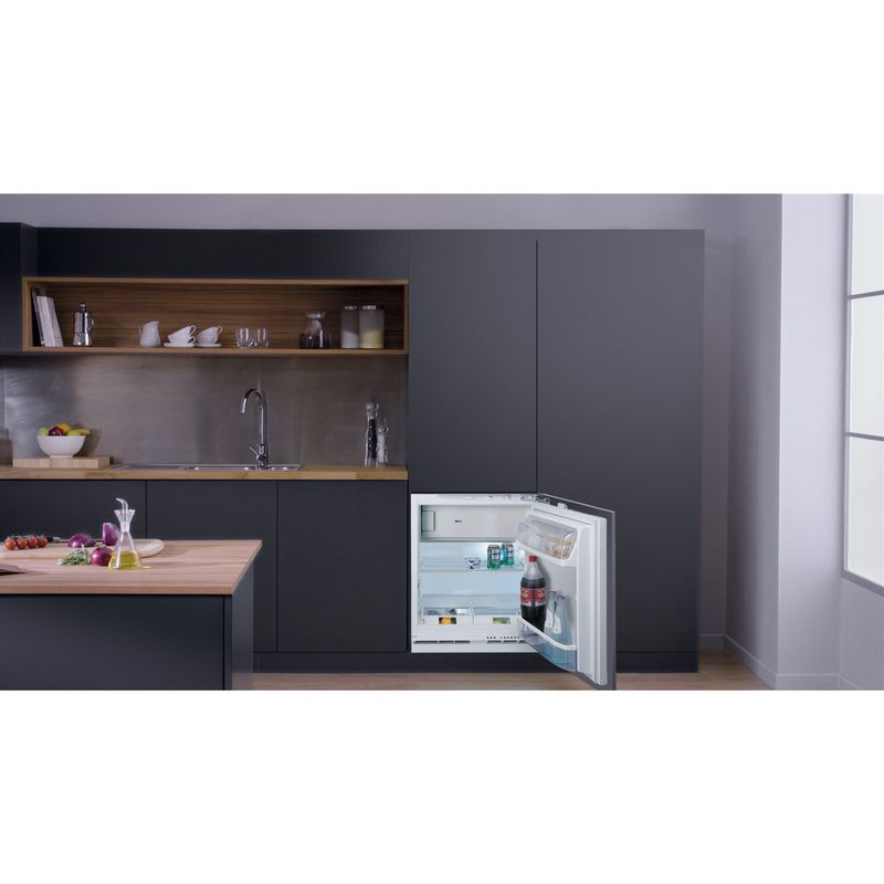Hotpoint-Refrigerator-Built-in-HF-A1.UK-1-Steel-Lifestyle-frontal-open