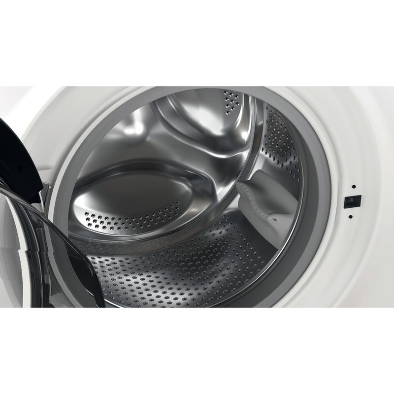 Hotpoint-Washing-machine-Free-standing-NSWE-742U-WS-UK-N-White-Front-loader-E-Drum