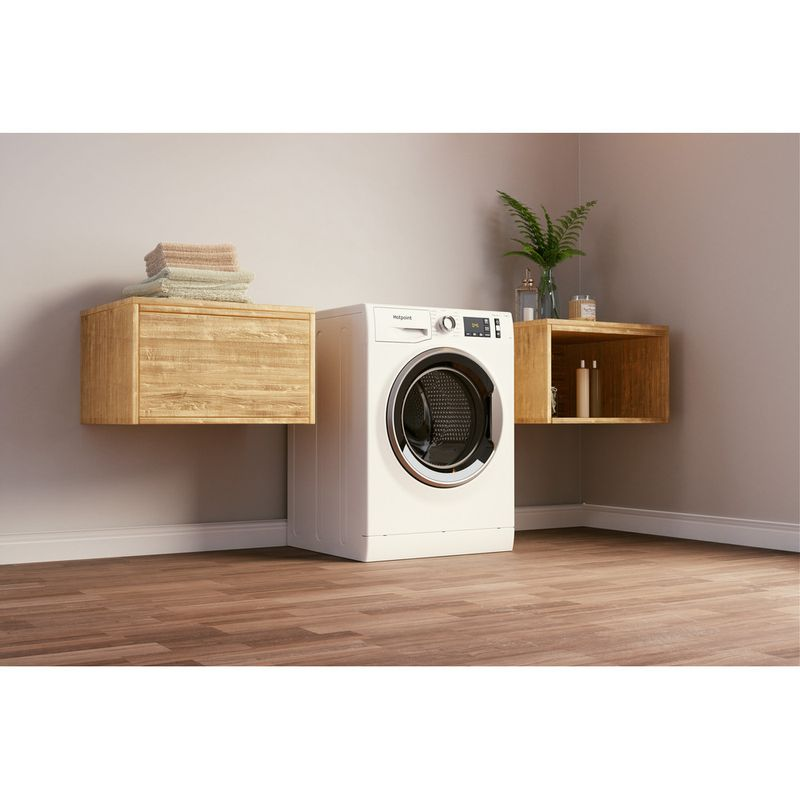 Hotpoint-Washing-machine-Free-standing-NM11-945-WS-A-UK-N-White-Front-loader-B-Lifestyle-perspective