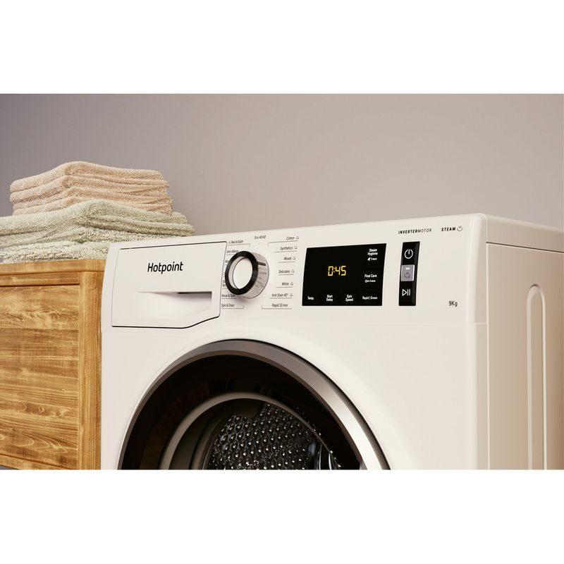 Hotpoint-Washing-machine-Free-standing-NM11-945-WS-A-UK-N-White-Front-loader-B-Lifestyle-control-panel