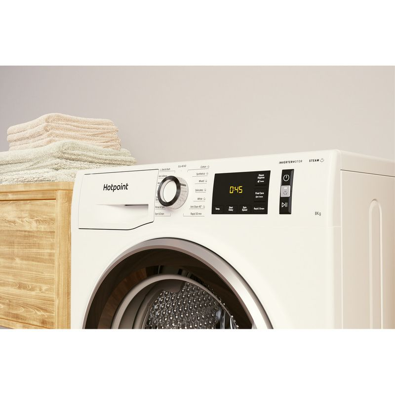 Hotpoint-Washing-machine-Free-standing-NM11-844-WC-A-UK-N-White-Front-loader-B-Lifestyle-control-panel