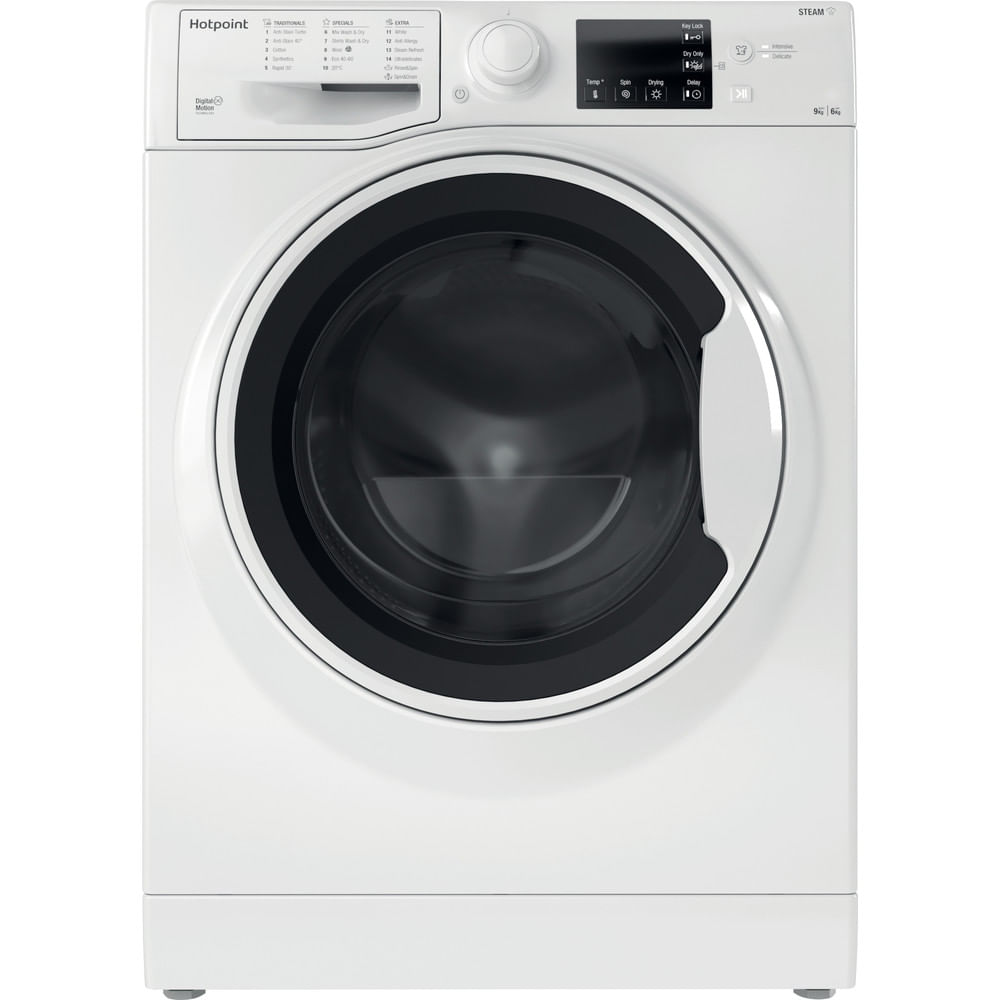 Hotpoint Freestanding Washer Dryer RDGE 9643 W UK N : discover the specifications of our home appliances and bring the innovation into your house and family.