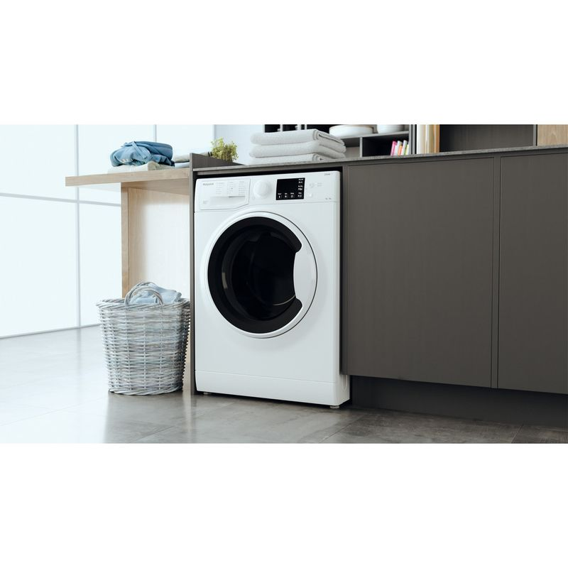 Hotpoint-Washer-dryer-Free-standing-RDGE-9643-W-UK-N-White-Front-loader-Lifestyle-perspective