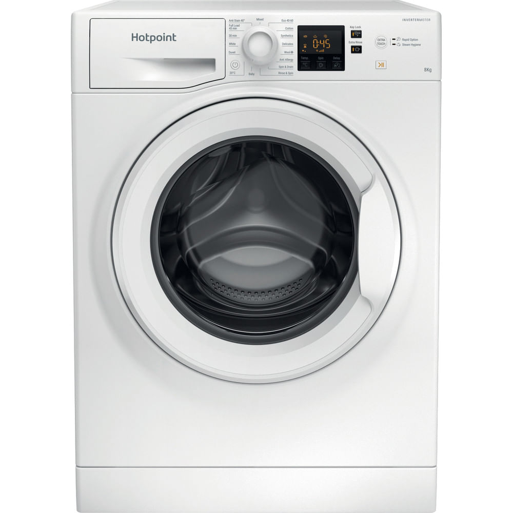 Hotpoint Freestanding Washing Machine NSWR 843C WK UK N : discover the specifications of our home appliances and bring the innovation into your house and family.