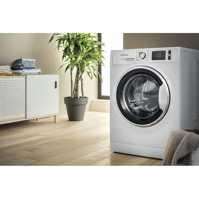 Hotpoint-Washing-machine-Free-standing-NM11-945-WC-A-UK-N-White-Front-loader-B-Lifestyle-perspective