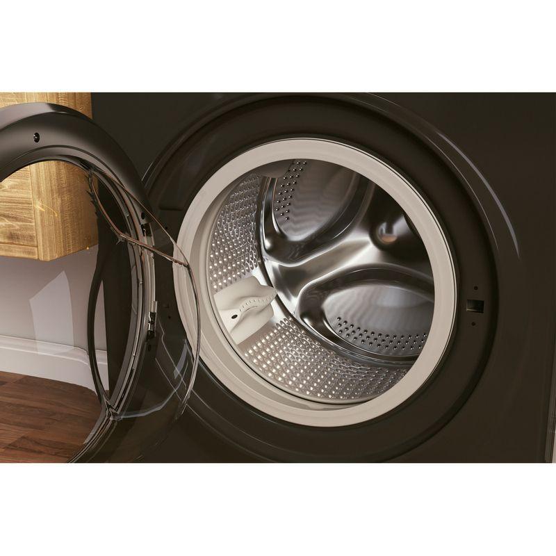 Hotpoint-Washing-machine-Free-standing-NM11-945-BC-A-UK-N-Black-Front-loader-B-Drum