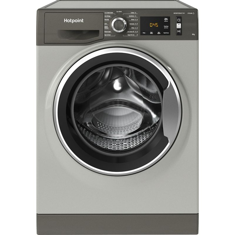 Hotpoint-Washing-machine-Free-standing-NM11-945-GC-A-UK-N-Graphite-Front-loader-B-Frontal