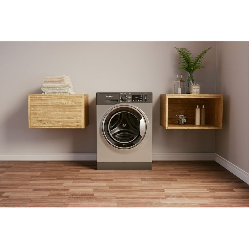 Hotpoint-Washing-machine-Free-standing-NM11-945-GC-A-UK-N-Graphite-Front-loader-B-Lifestyle-frontal