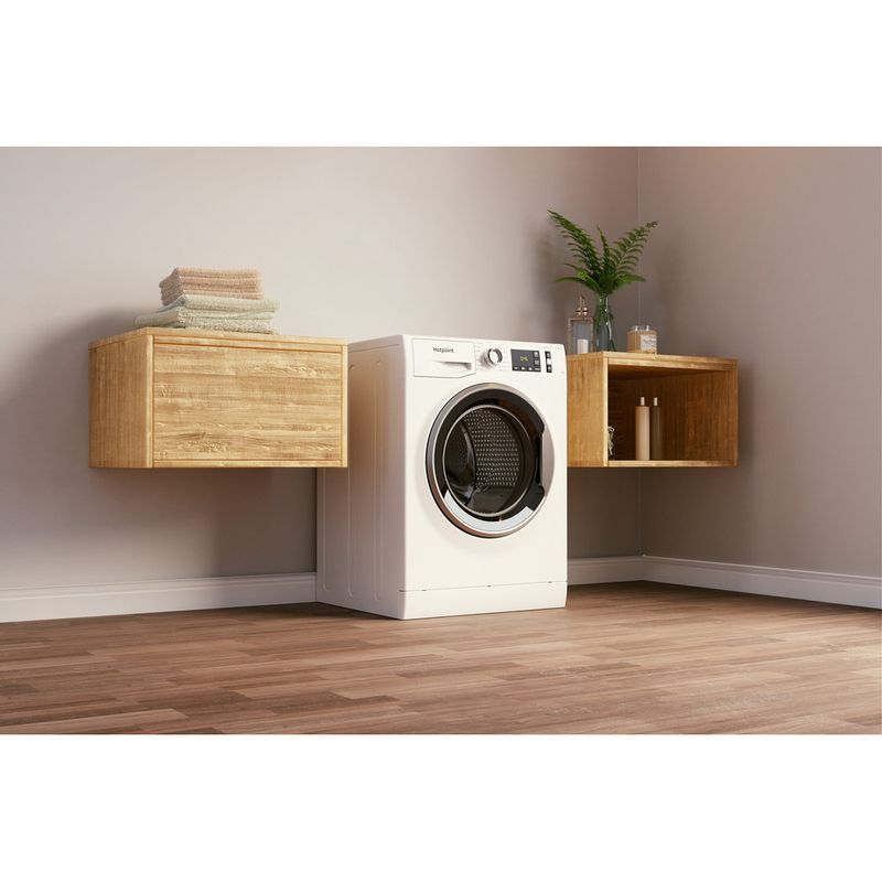 Hotpoint-Washing-machine-Free-standing-NM11-964-WC-A-UK-N-White-Front-loader-C-Lifestyle-perspective