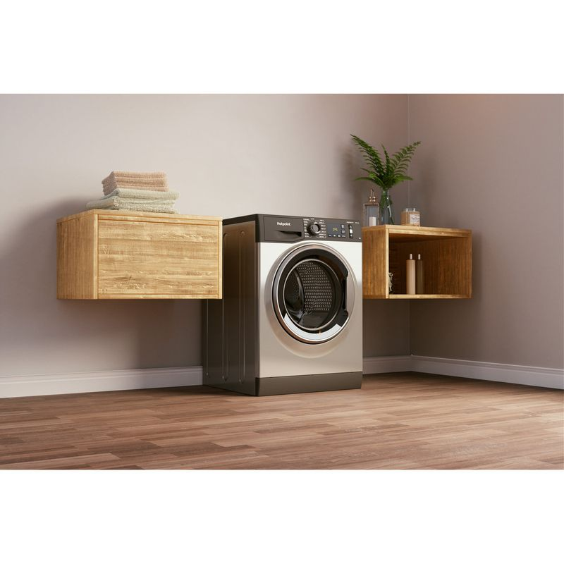 Hotpoint-Washing-machine-Free-standing-NM11-964-GC-A-UK-N-Graphite-Front-loader-C-Lifestyle-perspective