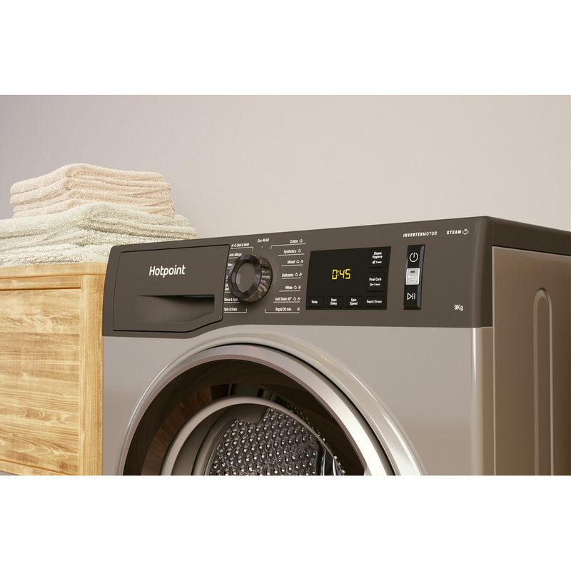 Hotpoint-Washing-machine-Free-standing-NM11-964-GC-A-UK-N-Graphite-Front-loader-C-Lifestyle-control-panel
